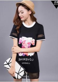 JNS816 blouse black.