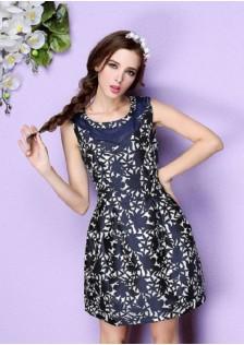 JNS102 dress blue
