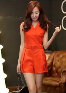 JNS9080 romper orange . ***