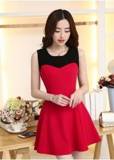 JNSH103 dress red