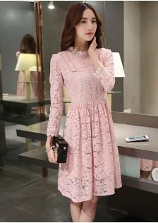 JNS627 dress pink