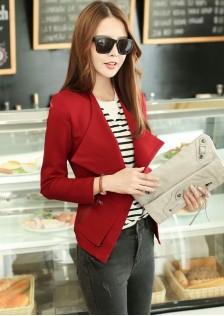 JNS8010 jacket red.