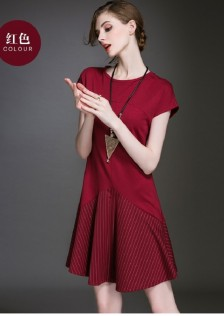 JNS1530 dress red