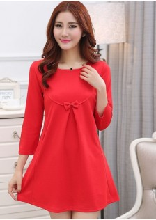 JNS6301 dress red