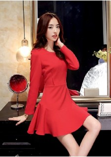 JNS5548 dress red