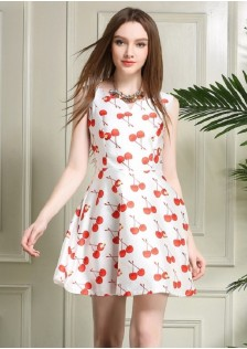 JNS5830 dress red