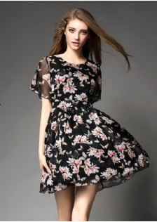 JNS065 dress black