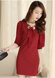 JNS1517 dress red