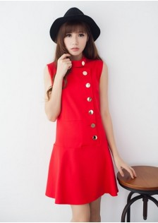 JNS1818 dress red