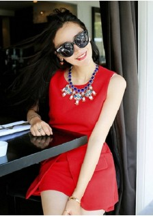 JNS611 dress red