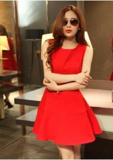 JNS0922 dress red