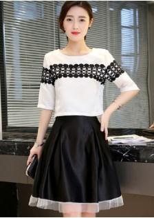 JNS9856 top+skirt *