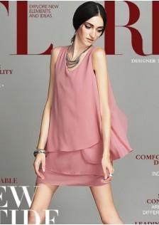 JNS9019 office-dress pink *