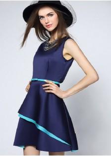 JNS6102 office-dress blue *
