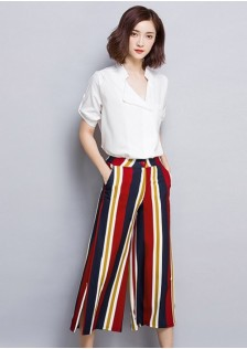 JNS6175 top+pants*