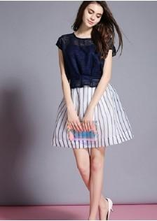 JNS3889 top+skirt