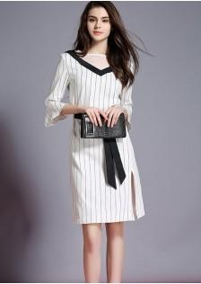 JNS3890 office-dress white*