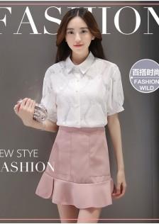 JNS913 top+skirt