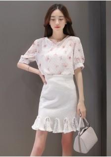 JNS915 top+skirt *