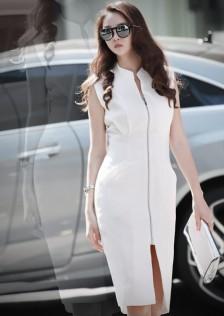 JNS0327 office-dress white*