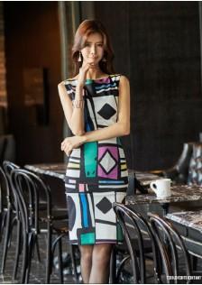 JNS316 office-dress*