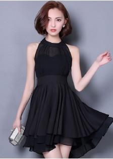 JNS9595 dress black