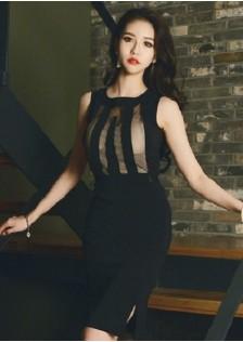 JNS3951 office-dress black