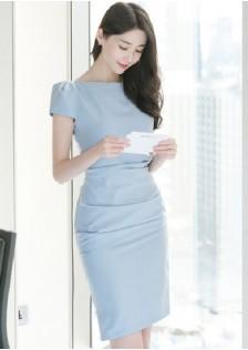 JNS3896 office-dress blue