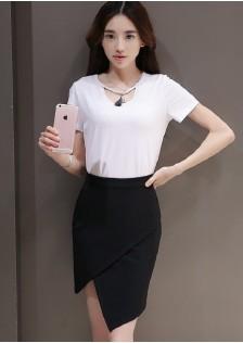 JNS6032 top+skirt
