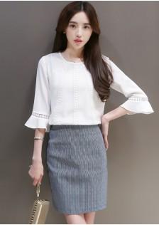 JNS501 top+skirt