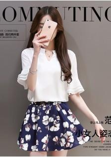 JNS6017 top+skirt