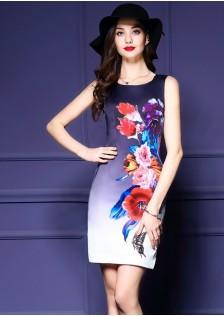 JNS5867 office-dress