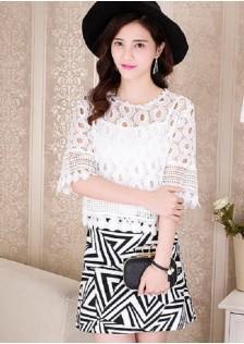 JNS803 top+skirt