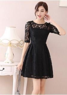JNS609 dress black