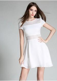 JNS1696 dress white