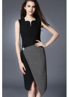 JNS5656 office-dress