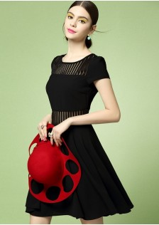 JNS1696 dress black