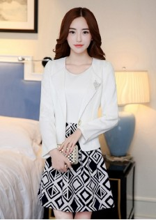 GSS7771 outer+dress white
