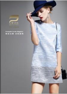 JNS1605 dress blue