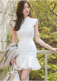 JNS3898 office-dress white