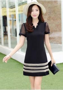 JNS1046 office-dress black