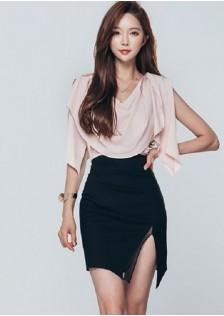 JNS3009 top+skirt