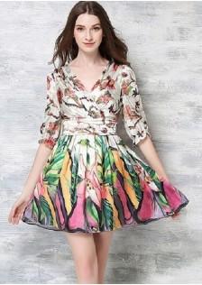 JNS9229 office-dress