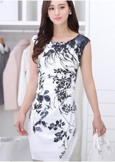 JNS2625 dress white