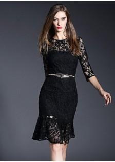 JNS9130 dress black