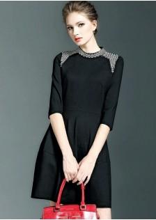 JNS5859 dress black