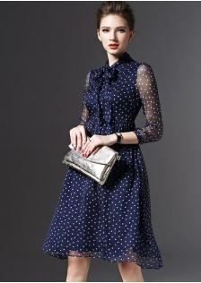 JNS6826 dress blue