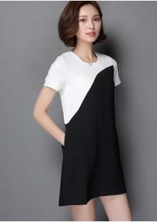 JNS6637 dress black