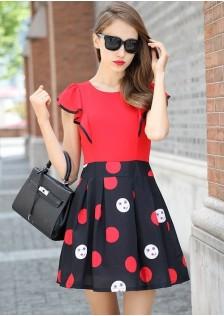 JNS1768 dress red