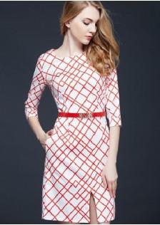 JNS9091 dress white
